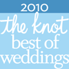 The Knot 2010 Voted Best Wedding Vendor