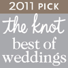 The Knot 2011 Voted Best Wedding Vendor